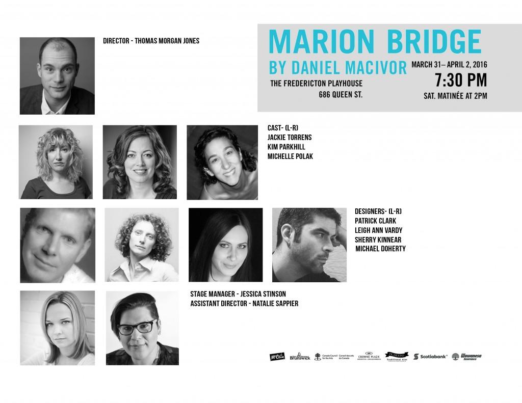 Cast and Creative - Marion Bridge